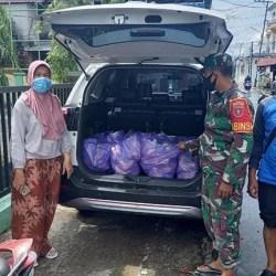 TERUS SALURKAN Bantuan Pangan, Ini yang Dikerjakan Posko Kecamatan Banjarmasin Utara