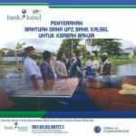 UPZ BANK KALSEL Cabang Martapura Berikan Bantuan Korban Banjir