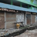 GILIRAN BELASAN Kios Pasar Kuripan Dibongkar Pemko, Usai Pos Polisi