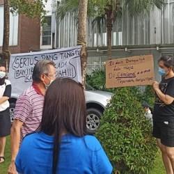 PROTES dengan Janji Bebas Banjir, Kantor Management Citraland Digeruduk Warga