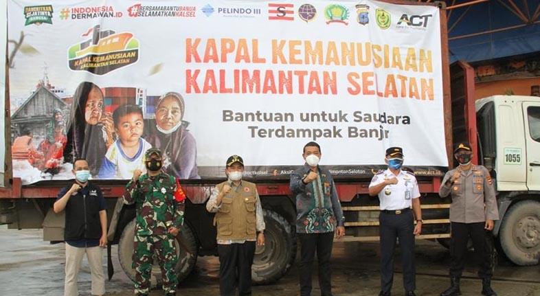 ACT PASOK 1.000 Ton Logistik, Walikota: Mudahan Bisa Membantu Saudara Kita di Kalsel