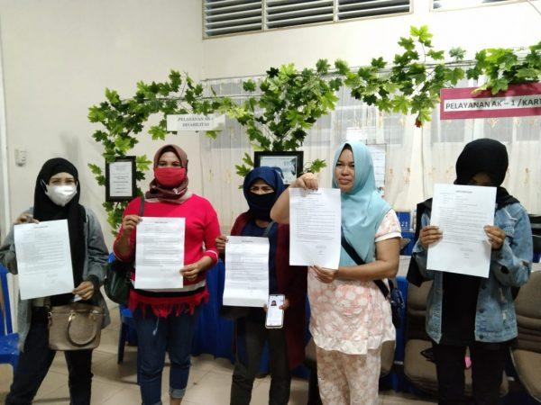 DIGAGALKAN Keberangkatan Lima Pekerja Migran Illegal Dijanjikan Bekerja di Uni Emirat Arab