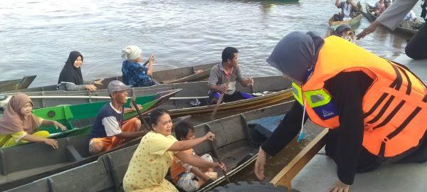 RELAWAN FOUNDE dan Banua Rescue Peduli Bersama dengan Satpolair