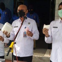 IRONIS !! Satu Keluarga Digelandang ke BNN Kalsel dengan Sabu 3 Kg Lebih dan 357 Butir Ekstasi