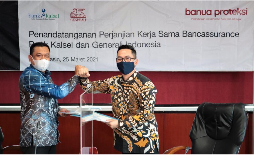 LUNCURKAN Asuransi Jiwa Banua Proteksi, Bank Kalsel Kalaborasi dengan Generali