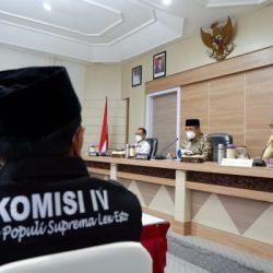 DIPUJI Komisi IV DPRD Kalsel, Kesiapan HSS Sekolah Tatap Muka