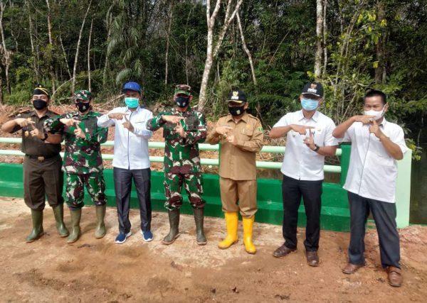 DANREM 101/ANTASARI Tutup TMMD ke 110 di Tanjung