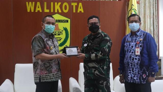 Akhmad Fydayeen, S.H., M.Si menerima silaturrahmi dari Tim Aju (Kuliah Kerja Dalam Negeri (KKDN) Sesko TNI (2)