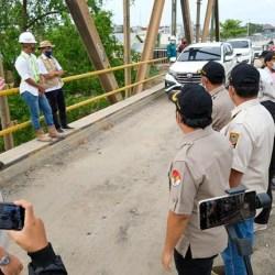 UJI COBA Jembatan Kayutangi Ujung Diharapkan Pecahkan Kemacetan