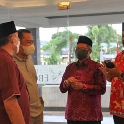 MTQ DITUNDA, Kafilah Banjarmasin Dapat Kunjungan PJ Sekda Kota Mukyar