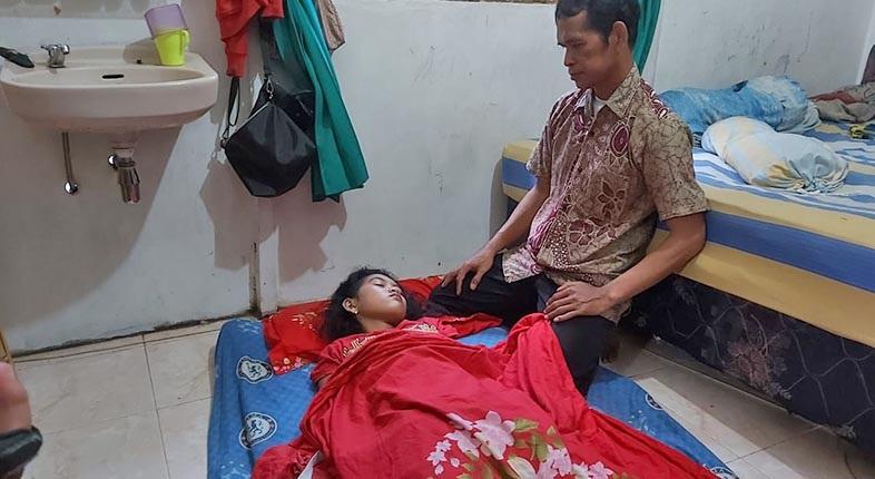 TERLELAP SEPEKAN, 'Putri Tidur' Banjarmasin Berharap Berjumpa Presiden Jokowi