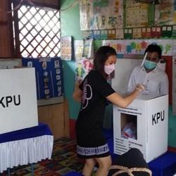 TARIK Partisipasi Pemilih, Bangunan Sekolah pun Digunakan