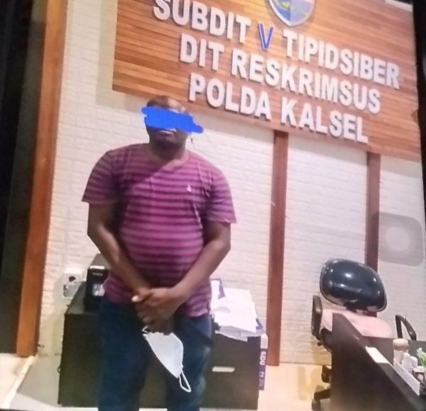 PEMBURUAN Seorang WNA Nigeria, Akhirnya Tertangkap Polda Kalsel