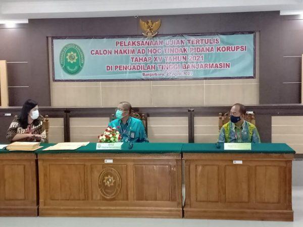 SELEKSI Calon Hakim Ad Hoc TipikorDilakukan PT Libatkan Panitia Pusat