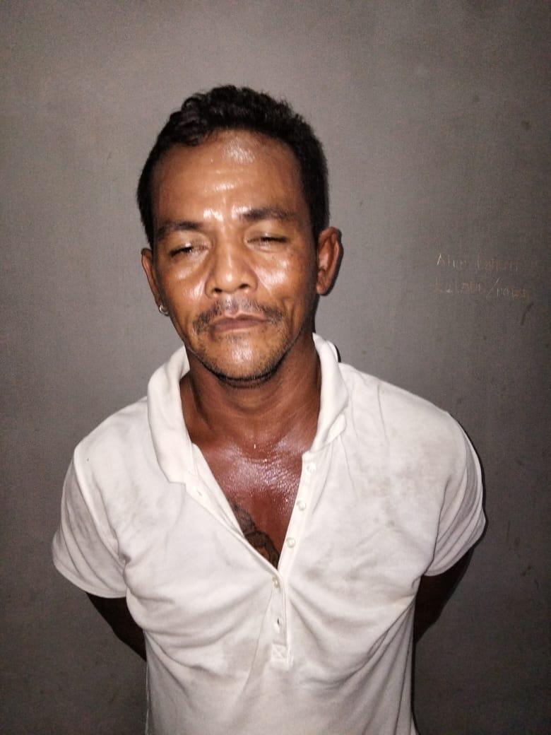 SEBUAH RUMAH di Desa Makmur Mulia Satui Digerebek Polisi