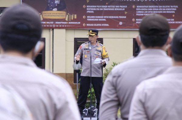 AMAN PSU Banjarmasin dengan Dijaga 340 Personel dan Dipantau dari Bareskrim Polri