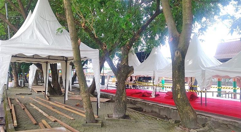 MASIH DIGELAR Event Ceremonial di Tengah PPKM