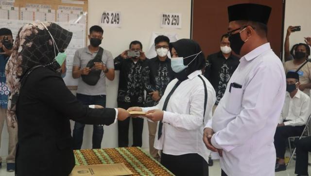 pelantikan PPK dan PPS Pemilihan Suara Ulang (PSU) Pilwali Banjarmasin (2)
