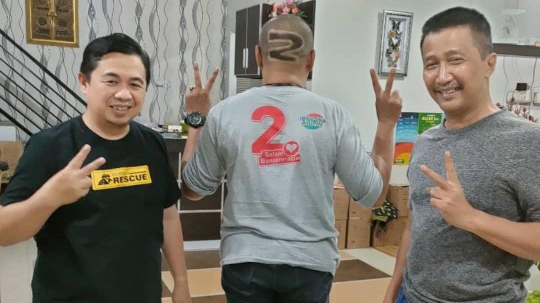 ALIM UKIR Angka '2' di Rambutnya, Usai Idolanya Menang