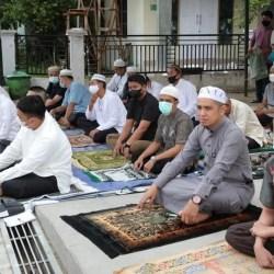 BERSAMA WARGA Bumi Indah Lestari, Pj Walikota Gelar Shalat Idul Fitri