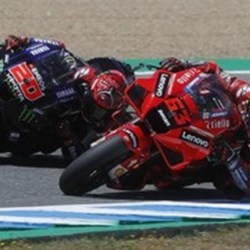 MILLER MENANG di MotoGP Spanyol, Motor Quartararo Aneh
