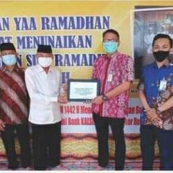 RUTIN Dukung Kegiatan Keagamaan di Banua, UPZ Bank Kalsel Konsisten Bantu Unit Pengelola Zakat