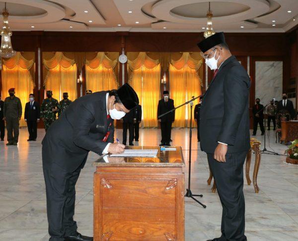 AKHIRNYA Roy Rizali Anwar Definitif Sekdaprov Kalsel
