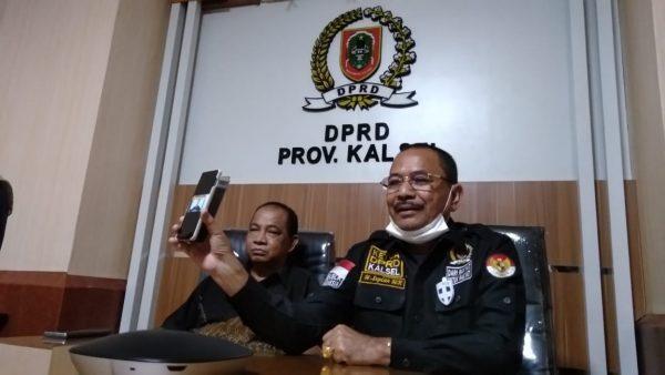 """DISESALKAN Ketua DPRD Kalsel """"Manuver"""" Denny Indrayana Hingga Mencaci Maki"""