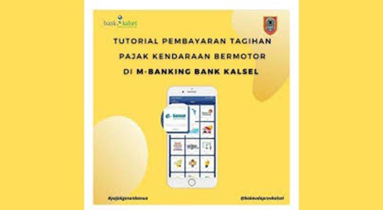 BAYAR TAGIHAN Pajak Kendaraan Bermotor Bisa Lewat M-Banking Bank Kalsel