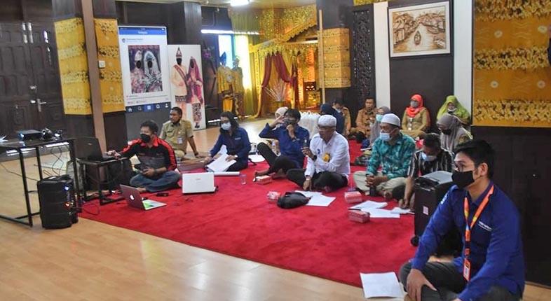 FGD VIRTUAL Tourism Kota Banjarmasin Digelar Disbudpar dan Tim Ahlinya