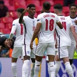 GOL Raheem Sterling, Inggris Kalahkan Krosia 1-0