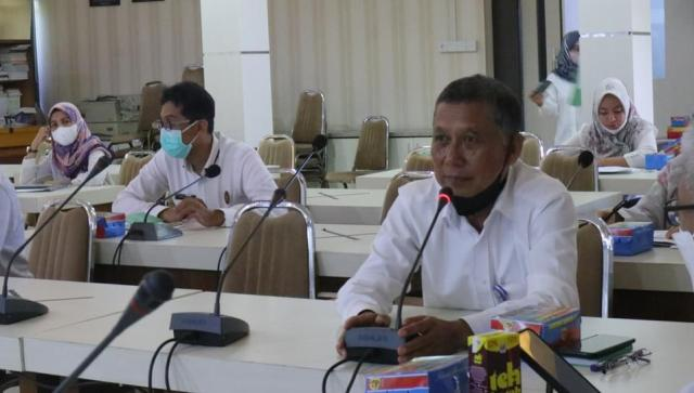 Pemerintah Kota Banjarmasin melalui Barenlitbangda Kota Banjarmasin menggelar rapat koordinasi terkait perencanaan bidang infrastruktur dan kewilayahan kota (2)