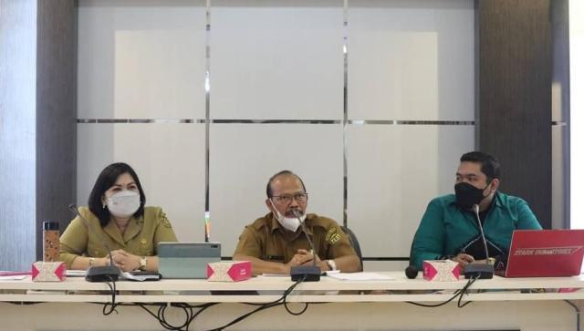 Pemerintah Kota (Pemko) Banjarmasin melalui Badan Perencanaan Penelitian dan Pengembangan Daerah (Barenlitbangda) menggelar rapat koordinasi