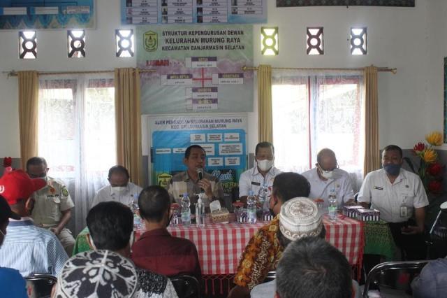 Penjabat (Pj) Walikota Banjarmasin, Akhmad Fydayeen, S.H., M.Si kembali berkunjung ke 4 kantor Kelurahan yang ada di Banjarmasin Selatan (1)
