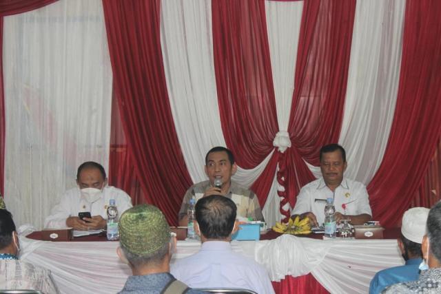Penjabat (Pj) Walikota Banjarmasin, Akhmad Fydayeen, S.H., M.Si kembali berkunjung ke 4 kantor Kelurahan yang ada di Banjarmasin Selatan (2)