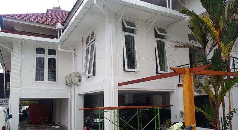 DUARATUS JUTA Rupiah untuk Renovasi Rumdin Wali Kota
