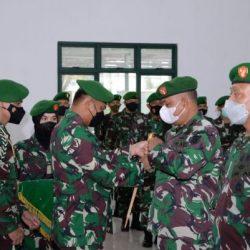 PEJABAT Kasrem 101/Antasari Bergeser dan Kodim 1007 Banjarmasin Dikomando Kolonel Inf Oki Andriansyah