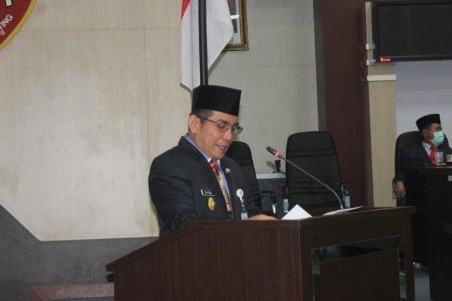 Rapat Paripurna tingkat 1 DPRD Kota Banjarmasin, penyampaian raperda prakarsa Pemerintah Kota (Pemko) Banjarmasin dan paripurna penetapan Walikota dan Wakil Walikota Banjarmasin