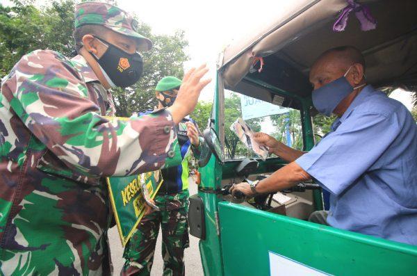 KARYA BAKTI Korem 101/Antasari Sejumlah Titik di Banjarmasin