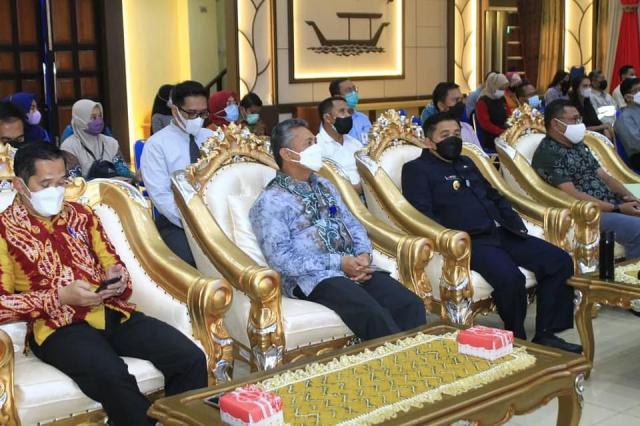 Acara Launching Aplikasi Elektronik Coporate Social Responsibility (eCSR), yang bertempat di Aula Kayuh Baimbai (2)