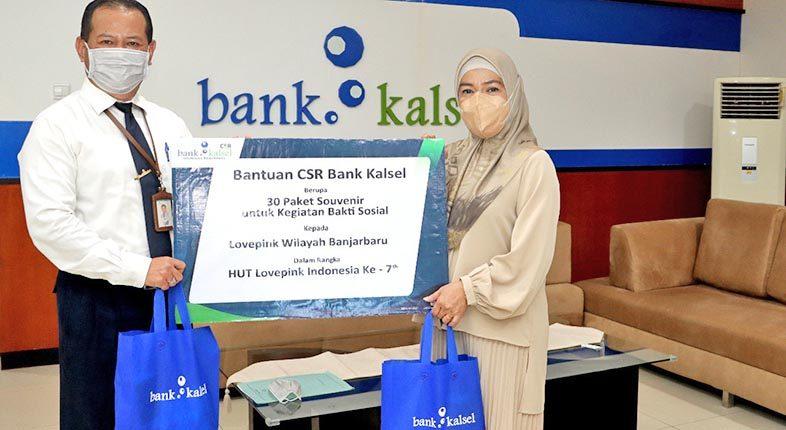 LOVEPINK BANJARBARU Peduli Kanker Payudara Didukung CSR Bank Kalsel