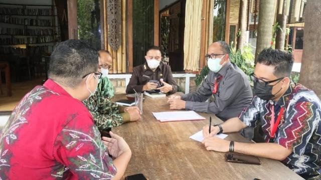 Rapat Koordinasi Penyerahan Pengelolaan Makam Sultan Suriansyah
