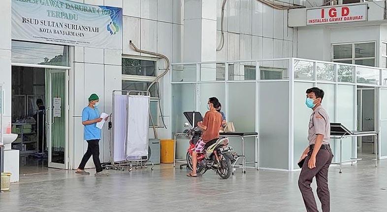 LONJAKAN KASUS di Banjarmasin, Ibnu: Rumah Sakit Utamakan Pasien Darurat