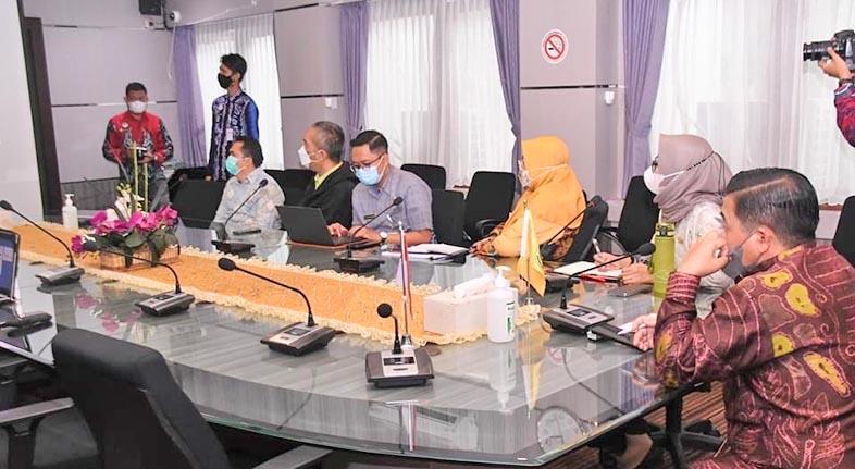 DIKEMBANGKAN Internet dan Jaringan Fiber Optik di Pemko Banjarmasin