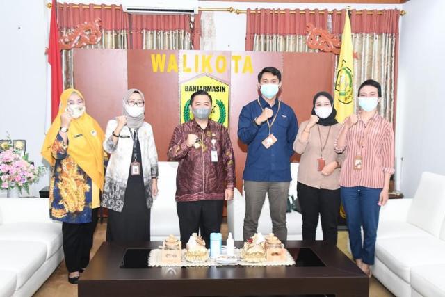 Rapat Ekspose Icon+, terkait penyedia internet di Kalimantan Selatan dan mengenai pengembangan jaringan fiber optik di Pemko Banjarmasin (2)