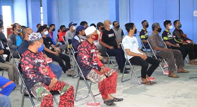 RELAWAN DAMKAR Ikuti Sosialisasi Tatacara Berlalulintas di Jalan