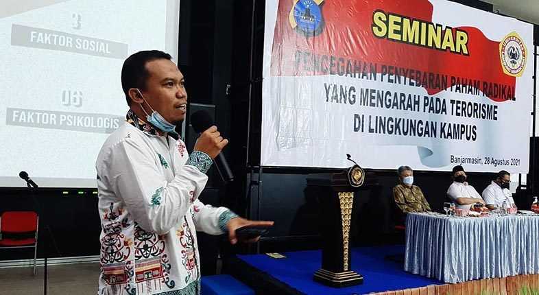 DOSEN FKIP ULM: Pencegahan Terorisme Sudah Jadi Fardu Kifayah di Masyarakat