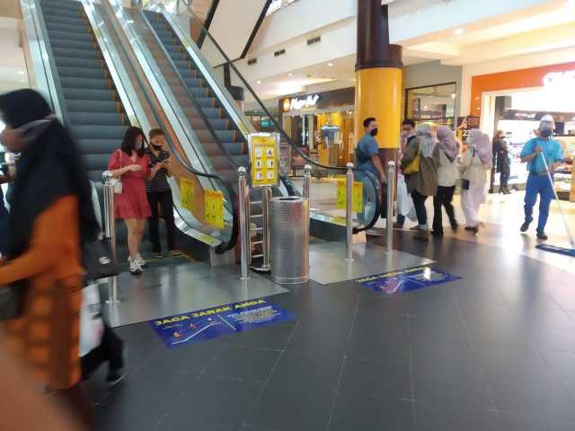 MESKI LEVEL 4, Mall Dapat Kelonggaran (2)