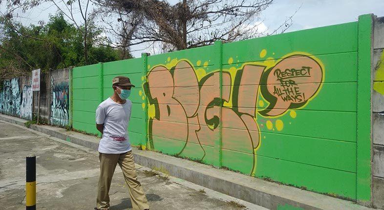 PENGHAPUSAN Mural Sindiran Didukung Waket DPRD Banjarmasin