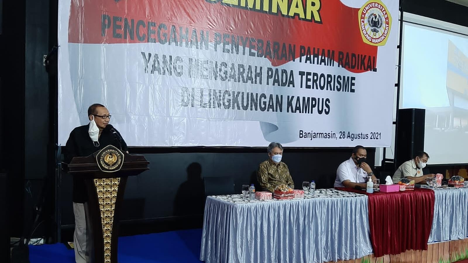 POLDA-ULM Kerjasama Tangkal Terorisme di Lingkungan Kampus
